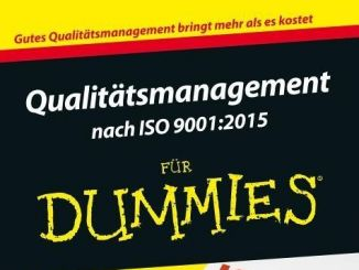 Qualitätsmanagement nach ISO9001:2015